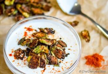 Step for Recipe - Indian Crispy Bhindi (Okra) Raita