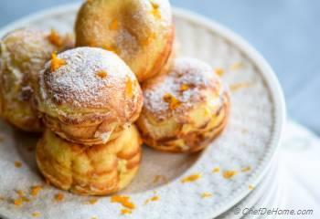 Step for Recipe - Orange-Cream Ebelskivers - Danish-style Filled Pancakes