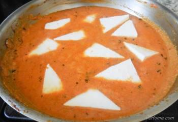 Step for Recipe - Indian Paneer Butter Masala with Pickled Pearl Onions