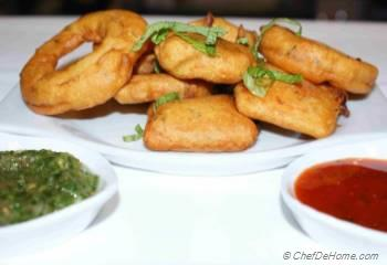 Step for Recipe - Crunchy Paneer Pakora