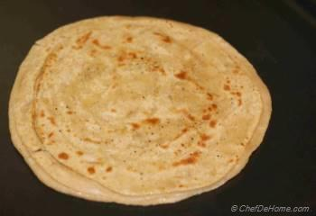 Step for Recipe - Layered Griddle Fried Flat Bread