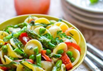 Step for Recipe - Lemon-Herb Pasta Primavera