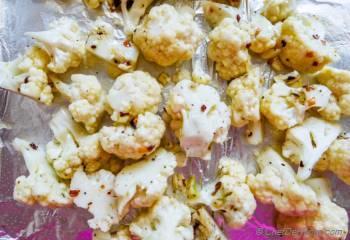 Step for Recipe - Roasted Cauliflower Pasta Puttanesca