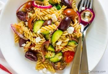 Step for Recipe - Ultimate Greek Pasta Salad
