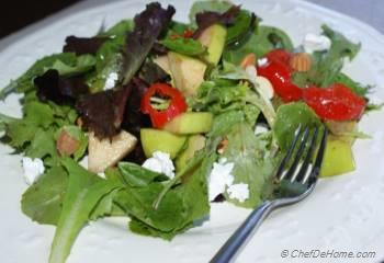 Step for Recipe - Spring Greens Salad