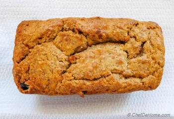 Step for Recipe - Persimmon Banana Nut Bread