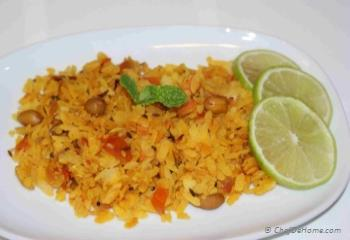 Step for Recipe - Poha - Rice Flakes Snack
