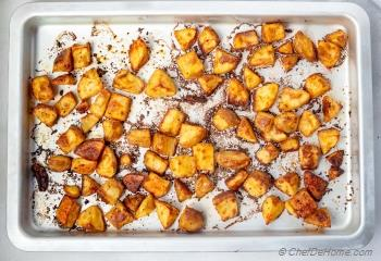 Step for Recipe - Crispy Baked Ranch Potato