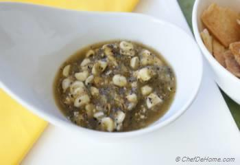 Step for Recipe - Roasted Corn and Tomatillo Salsa