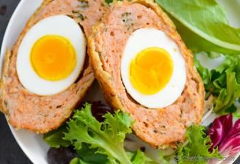 Step for Recipe - Giant Baked Chicken Scotch Eggs | Indian Nargisi Kofta