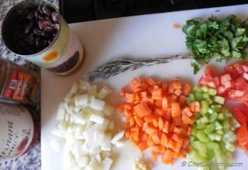 Step for Recipe - Crockpot Minestrone Soup with Pasta