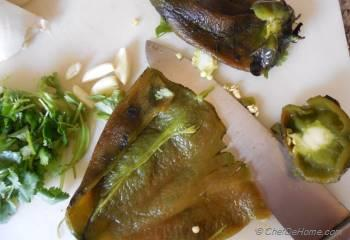 Step for Recipe - Sofritas Verde with Roasted Chile, Cilantro and Spices