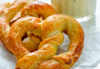 Step for Recipe - Easy Homemade Soft Pretzels
