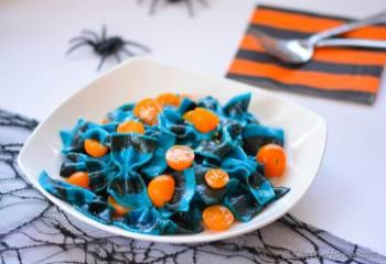 Step for Recipe - Spooky Lemon Butter Noodles with Witch Croutons