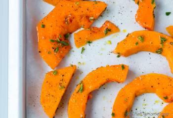 Step for Recipe - Roasted Butternut Squash with Rosemary