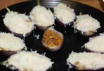 Step for Recipe - Stuffed Baby Eggplant Bites