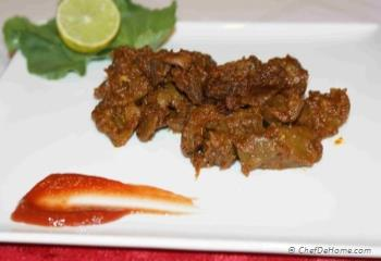 Step for Recipe - Hearts and Livers