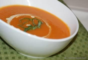 Step for Recipe - Homemade Tomato Soup