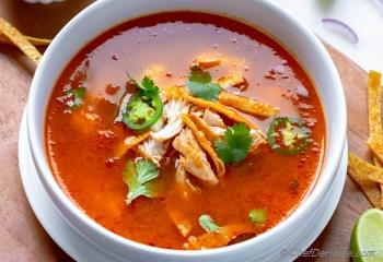 Step for Recipe - Instant Pot Chicken Tortilla Soup