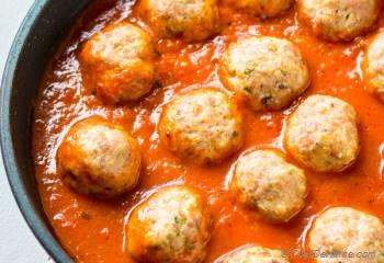 Step for Recipe - Baked Italian Turkey Meatballs