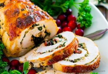 Step for Recipe - Stuffed Turkey Breast