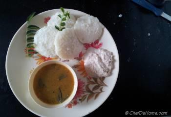 Step for Recipe - Authentic Rava Idli