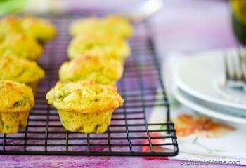 Step for Recipe - Vegan Avocado-Scallion Bake Sale Muffins