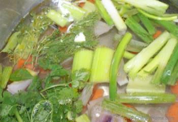Step for Recipe - Homemade Vegetable Stock