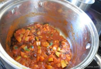 Step for Recipe - Vegetarian Sausage Chili