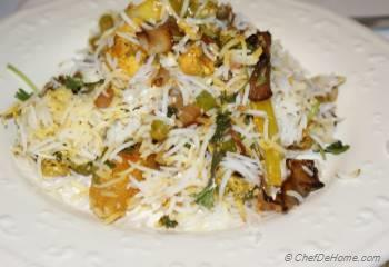 Step for Recipe - Vegetarian Biryani
