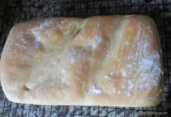Step for Recipe - Country Style Olives White Bread