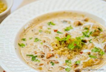 Step for Recipe - Quinoa and Wild Mushroom Soup