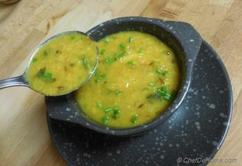 Step for Recipe - Yellow Lentils Soup