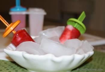 Step for Recipe - Strawberry Yogurt Swirls