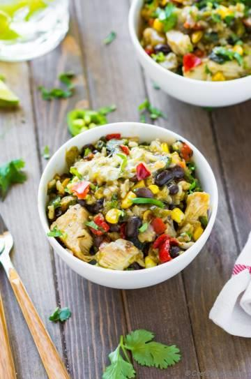 Mexican Style Chicken Bowl from SmartMade™