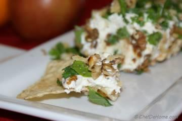 Date-Walnut Cream Cheese Dip