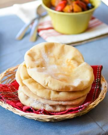 DIY Homemade Wholewheat Pita Bread