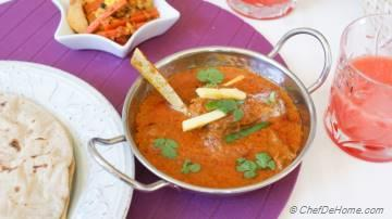 Indian Lamb Karahi Curry