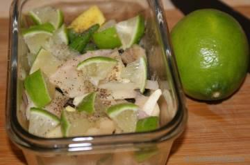 Quick Oil-free Ginger-Lime Pickle