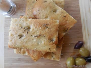 Basic Rosemary Focaccia Bread