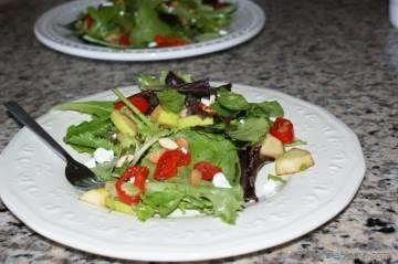 Spring Greens Salad
