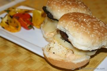 Juicy and Hearty Portobello Mushroom and Tofu Burgers