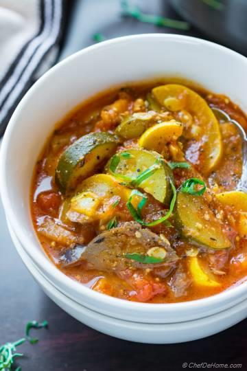 Easy Ratatouille Stew