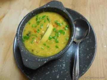 Yellow Lentils Soup