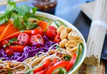 Asian Vegetarian Banh Mi Salad