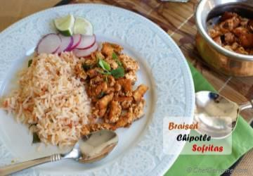Braised Chipotle Tofu Sofritas