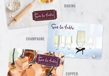 GIVEAWAY: $25 GIFTCARD TO SUR LA TABLE