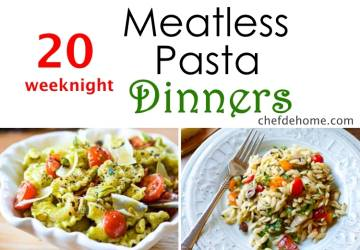 20 Weeknight Meatless Pasta Dinner Ideas