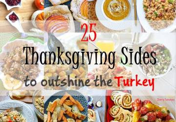 25 Thanksgiving Sides to Outshine the Turkey and 15 days to Thanksgiving Event