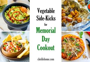 12 Vegetable Side-Kicks Recipes for Memorial Day Cookout